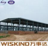 Construcción ligera soldada con autógena sección industrial del acero del marco de H nueva