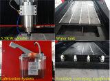 Legno della Tabella e macchina per incidere di alluminio della pietra