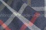 Tela teñida hilado de la tela escocesa de T/R, 65%Polyester 32%Rayon 3%Spandex, 280GSM