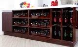 MDFの光沢度の高い紫外線食器棚(zx-063)