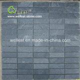Mosaico negro de la pizarra de la pizarra para la decoración de la pared y del suelo