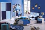 Het Meubilair van de Slaapkamer van kinderen met Hoge Glanzend voor Jongens