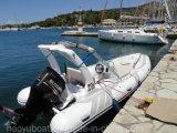 19feet 5.8m de Opblaasbare Boot van de Rib, de Boot van de Redding van de Vissersboot, de Boot van de Motor van de Sport voor Verkoop
