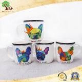 tasse en céramique animale du crabot 14oz mignon Chine nouveau-née pour le cadeau de promotion