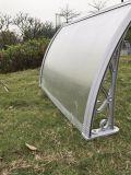 Parentesi di alluminio di fabbricazione della tenda fissata al muro
