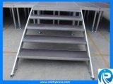 Stellen bewegliches Aluminiumstadium 4*4 mit Beine ein