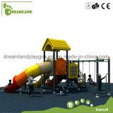 Cour de jeu extérieure en plastique extérieure de jardin d'enfants petite
