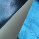 Tela de couro do plutônio de Eco para sapatas com espessura Hw-657 de 1.0mm