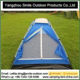 Silberne überzogene leichte im Freienfamilien-kampierendes Zelt
