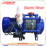 1 طن كهربائيّة [وير روب] محرك مرفاع مع [ترولّي] بناء كبل يسحب رافعة [سن] مرفاع