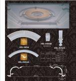 Карниз полиуретана собирая потолок декора потолка PU прокладывает рельсы Hn-P001