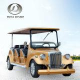 8 Seater 전기 골프 카트 고전적인 차량 관광 차