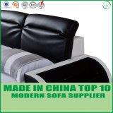Base de couro real da mobília do quarto