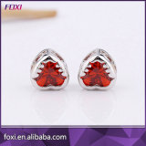 Ensemble de bijoux boucles d'oreilles plaqué or ou argenté CZ Fancy Necklace