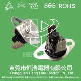 Ksd301手動リセットの温度調節器スイッチ