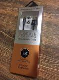 schnelles umsponnenes Nylonmetallmikro-USB-intelligentes magnetisches aufladendaten-Kabel der Aufladeeinheits-2.4A für iPhone/Android/Typen-c