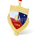 熱い販売のギフトはカスタム方法普及した特別なめっきされた引込められたクラブ柔らかいエナメルのギフトの記念品メダルを個人化した