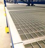 Piattaforma galvanizzata della griglia della barra d'acciaio per la cremagliera di memoria