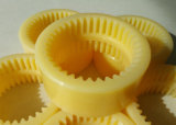 Nl1 - Nl10 Acoplamento de engrenagem de manga de nylon, dentes de nylon Manga de acoplamento do eixo de engrenagem, Nl Acoplamento de nylon