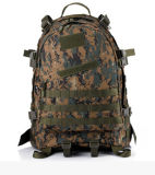 Color multi militar/el acampar/que va de excursión el bolso de hombro doble