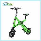 [ليثيوم بتّري] [250و] عديم سلسلة كهربائيّة جيب درّاجة اثنان عجلة يطوي درّاجة كهربائيّة