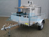 el tanque movible sanitario de la colección de leche 400L (ACE-ZNLG-V1)