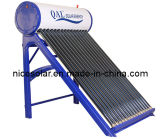 Verwarmer van het Water van Compat Unpressurized Zonne, Verwarmingssysteem CG 150L