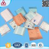 Bio garniture sanitaire personnalisée de confort féminin adulte remplaçable de coton