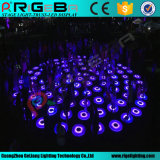 Luz interativa dinâmica redonda de Dance Floor do estágio do diodo emissor de luz