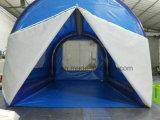 Im Freien aufblasbares kampierendes Zelt für Familie
