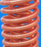 Свертываясь спиралью медный теплообменный аппарат трубопровода ребра