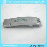 La botella de cerveza Juego de regalo de metal Streamline Abridor USB Flash Drive (ZYF1744)