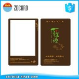 Unbelegte Rewritable PlastikChipkarte mit Chip Sle4442