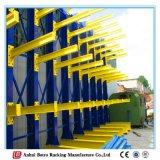 Estante de acero al aire libre del voladizo del almacenaje material del diseño de proyectos