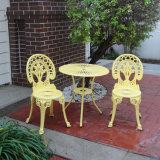옥외 안뜰 가구 경량 알루미늄 야영 정원 테이블 의자