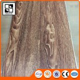 Sécher en arrière, configuration desserrée et plancher en bois de vinyle de tuile de planche (le plancher de vinyle)