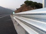 Горячий окунутый гальванизированный Corrugated барьер луча