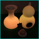 Het verlichte Ontwerp van de Vaas van de Kubus van Lighitng van de Spreker met Spreker Bluetooth met Lamp