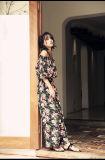 Fest befestigte passen die Frauen-schwarze Spitze-Abend-Kleid Cumtomize Kleid-Fabrik-hohe Form reizvolle Partei-Kleid-Fabrik an