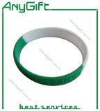 Silikon-Wristband/Armband mit kundenspezifischem Firmenzeichen (LAG-WB-08)