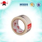 El pegamento modificó la cinta impresa del embalaje para requisitos particulares del cartón