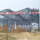 Edificio prefabricado del marco de acero con cinco palmos de Continuou