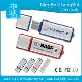 Movimentação plástica do flash do USB da boa qualidade