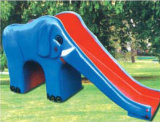 Equipo plástico de la diapositiva del patio al aire libre divertido para los cabritos (M11-09805)