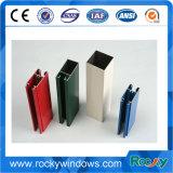 Profil bon marché en gros d'aluminium de la Chine de châssis de fenêtre de matériaux de construction