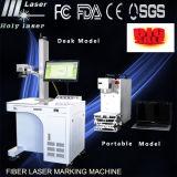 Машина 2016 маркировки лазера волокна пер металла машины маркировки лазера новой модели для цены металла (HSGQ-10W)