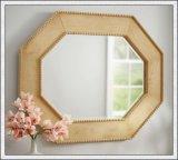 Specchio d'argento con i bordi Polished del blocco per grafici