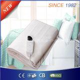 220-240V 침대 온열 장치를 위한 100%년 폴리에스테 전기 난방 담요