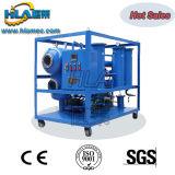 Filtre à huile de transformateur d'usine de rétablissement de vide d'Effciency