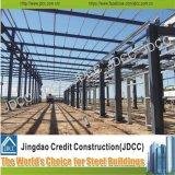 Magazzino industriale della struttura d'acciaio del tetto di luce solare